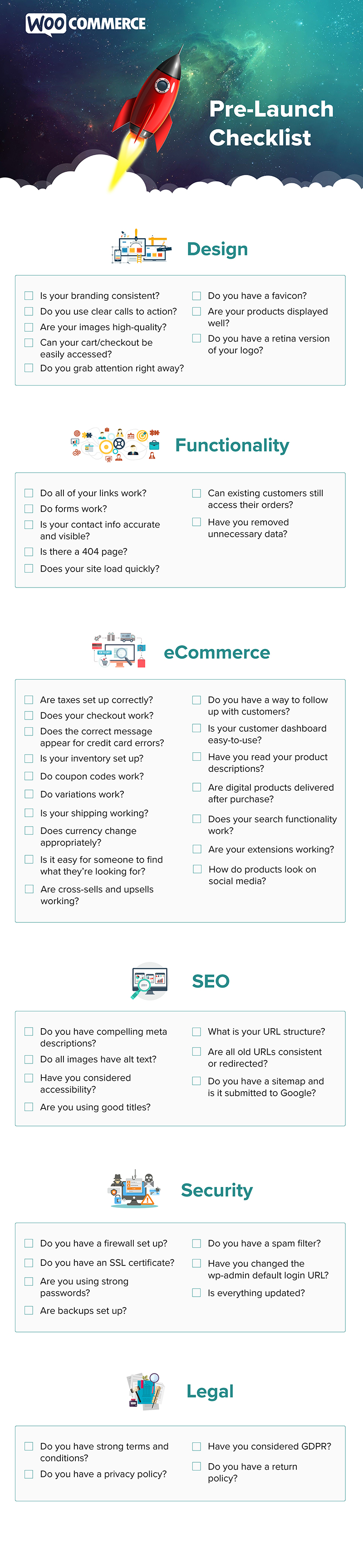49 Things To Check Before Launching Your Online Store