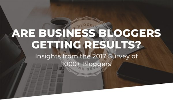 10 Stats to Guide Your 2018 Blogging Strategy