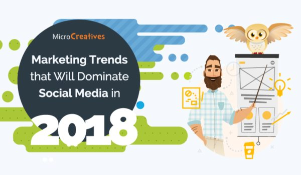6 Content Marketing Trends That Will Affect Your Business in 2018 [Infographic]