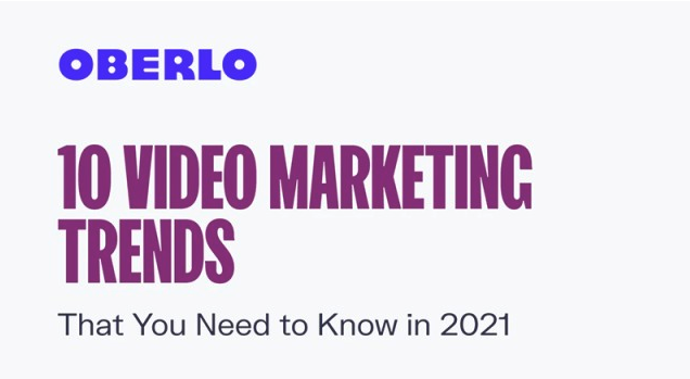 10 Video Marketing Trends For Your Online Strategy in 2021 [Infographic]
