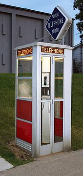 payphone booth