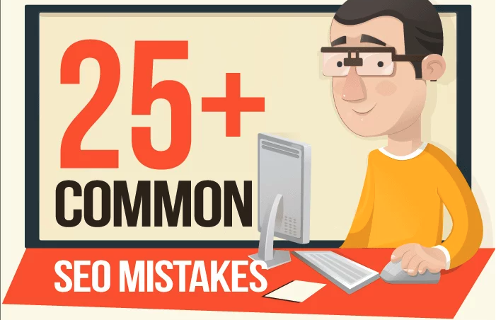 """26 Almost """"Non-Technical"""" SEO Mistakes to Avoid To Better Rank on Google [Infographic]"""